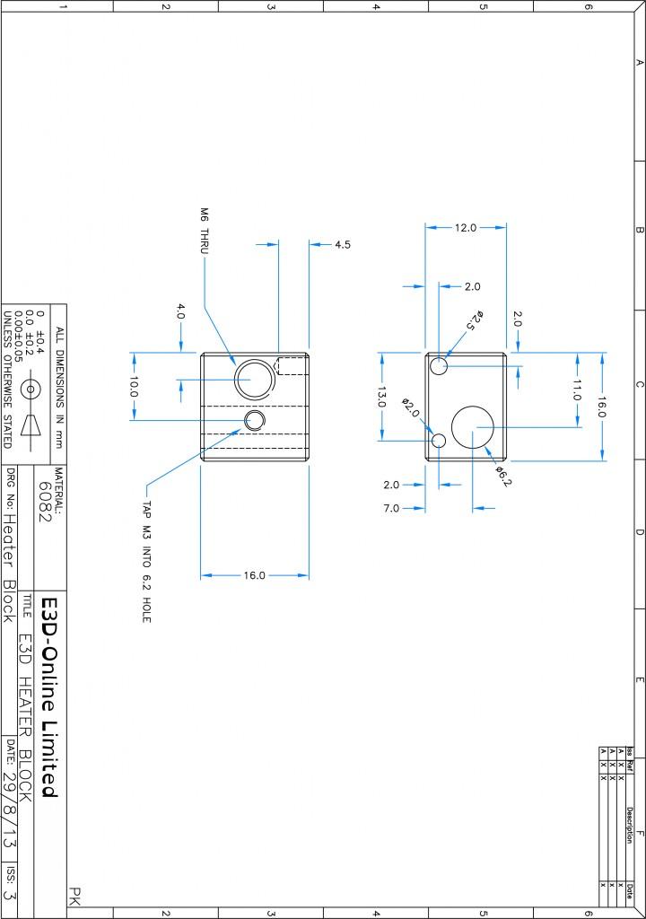 3DHeat Break Model